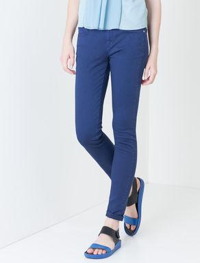 Pantaloni skinny fit di drill