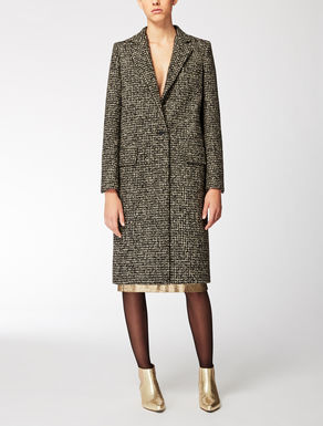 Wool, alpaca and mohair coat