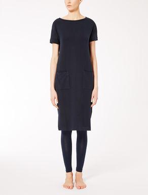 Viscose fleece dress