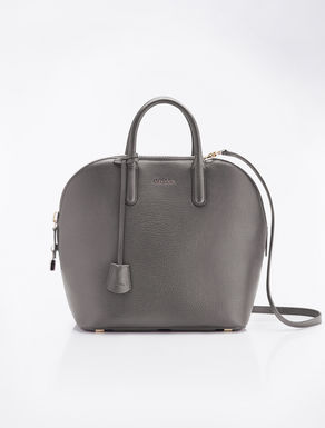 Grey deerskin Ali bag