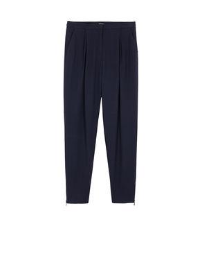 Pantaloni jogging di tessuto crêpe