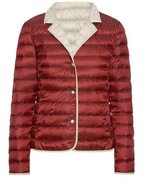Reversible duvet jacket