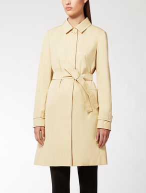 Trench en twill anti-gouttes