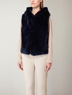 Lapin fur waistcoat
