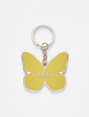 Butterfly keyring