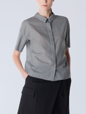 Linen and cotton shirt