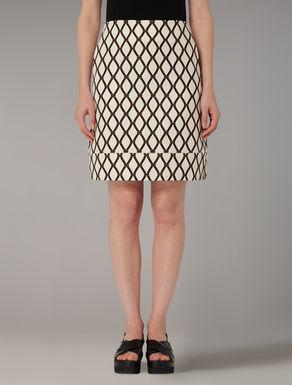 Linen and cotton skirt