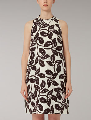 Ramie, silk and cotton Ottoman dress