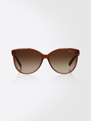 Butterfly-shaped sunglasses