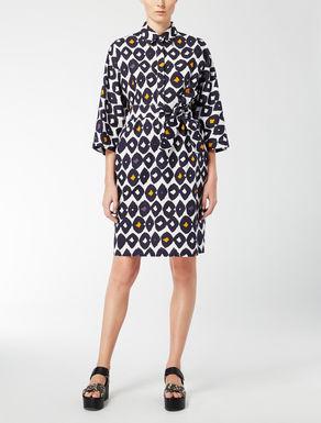 Hemdblusenkleid aus Baumwollpopeline