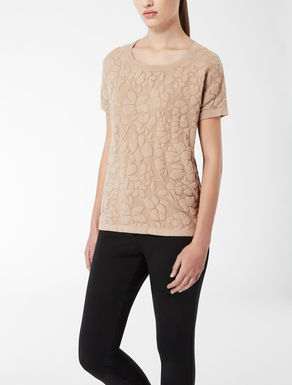 Stretch viscose knit shirt