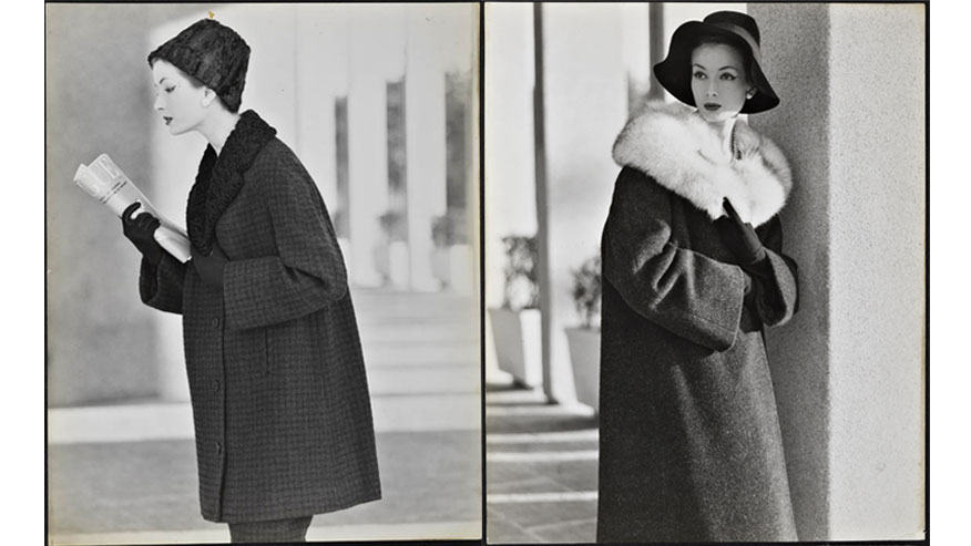 Images from the Max Mara Fall/Winter 1957-1958 Collection
