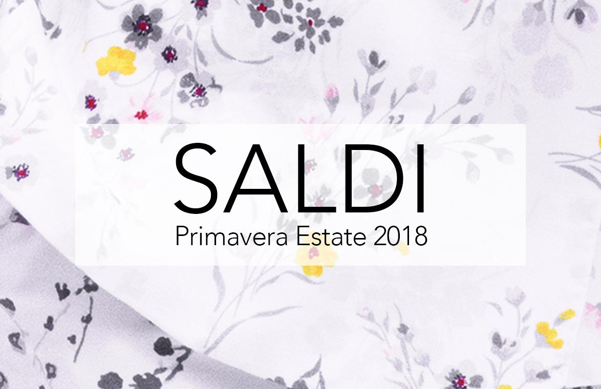 SALDI PRIMAVERA ESTATE 2018