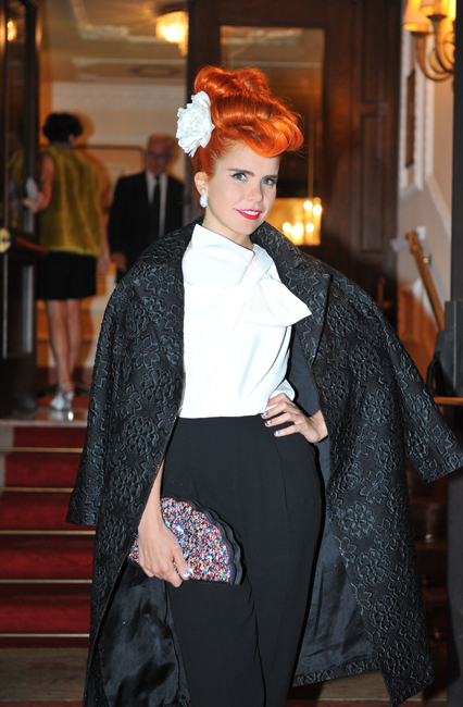 Paloma Faith in Max Mara