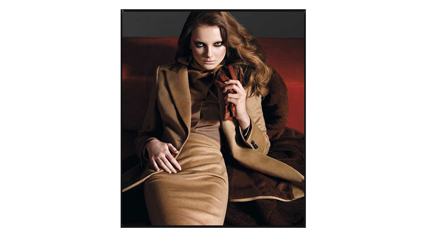 Max Mara Fall/Winter 2009-2010 campaign