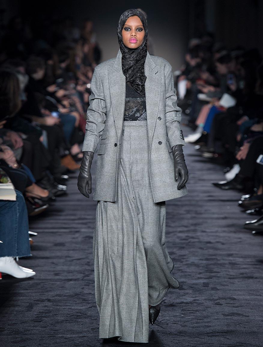 Wool and cashmere flannel blazer