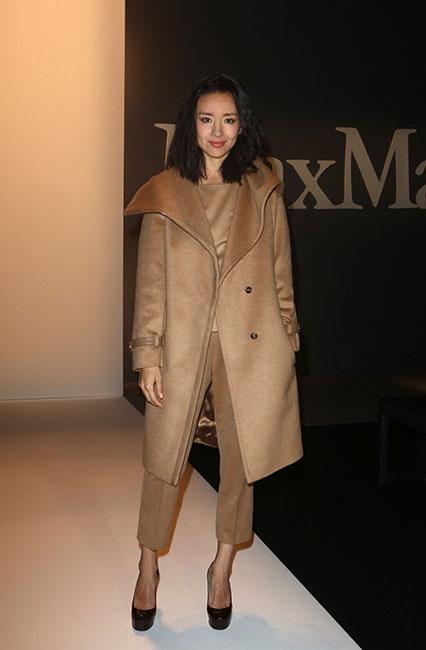 Jie Dong in Max Mara