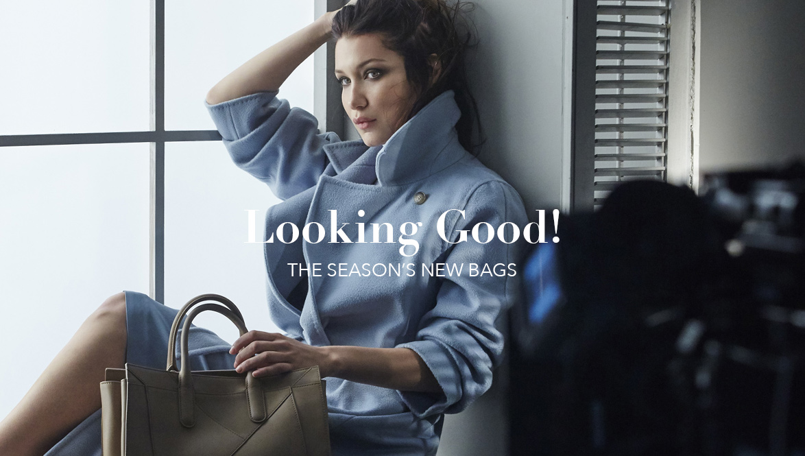 LOOKING GOOD: THE SEASON'S NEW BAGS - DÉCOUVREZ MAINTENANT
