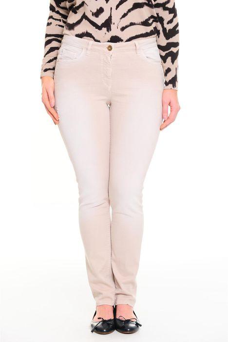 Pantaloni aderenti in denim