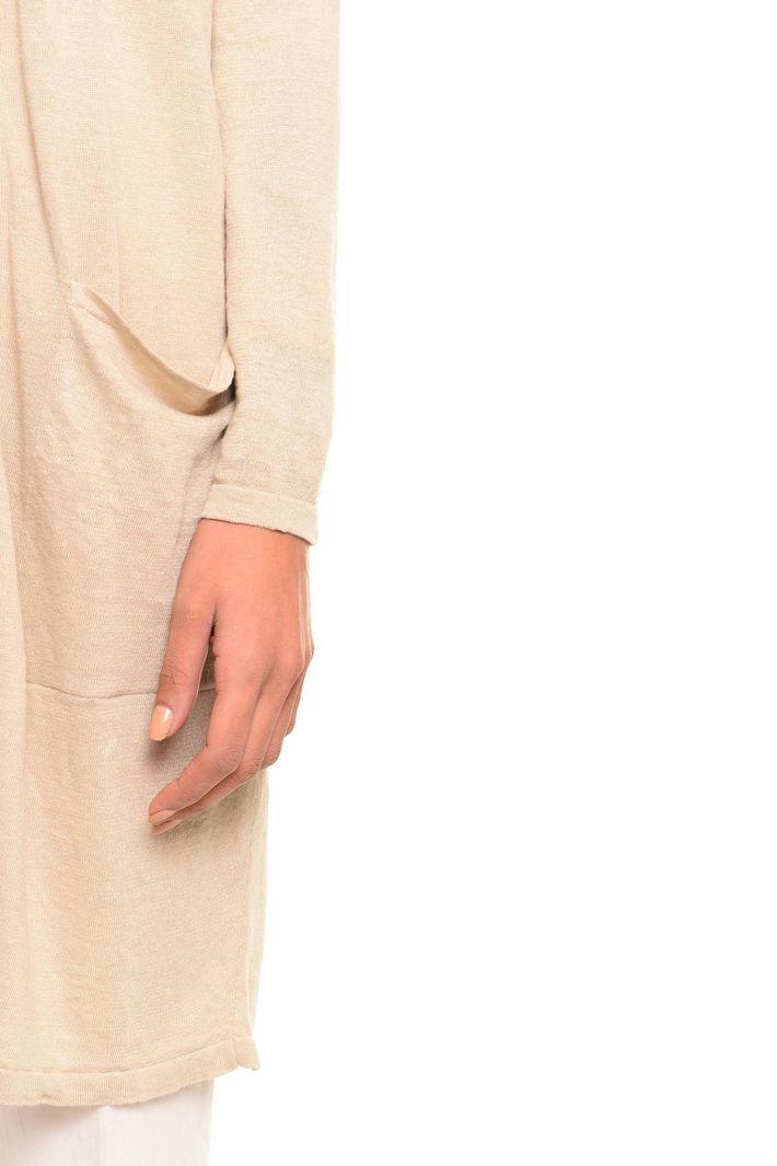 Cardigan in lino Diffusione Tessile