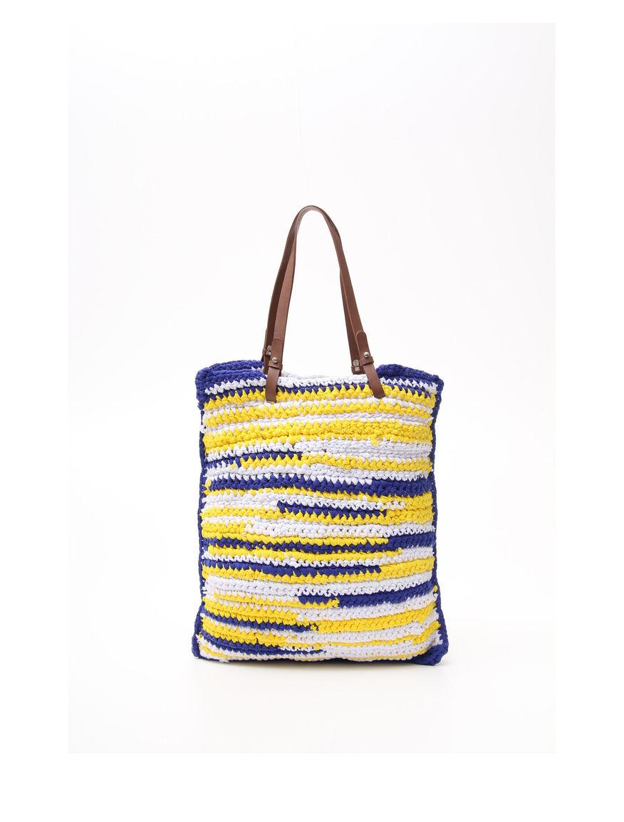 Shopper in maglia