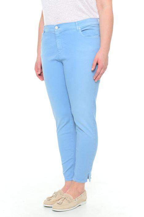Pantaloni in drill di cotone