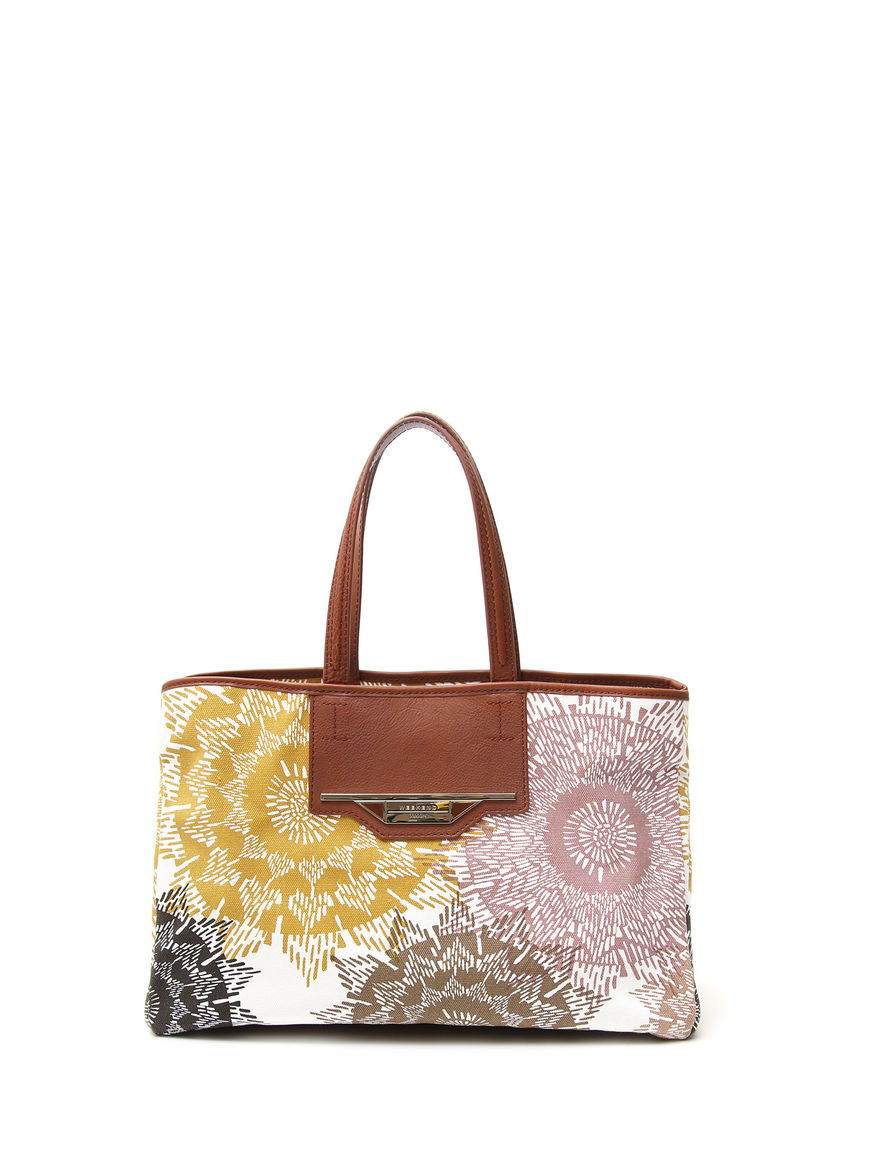 Shopping bag in cotone fantasia