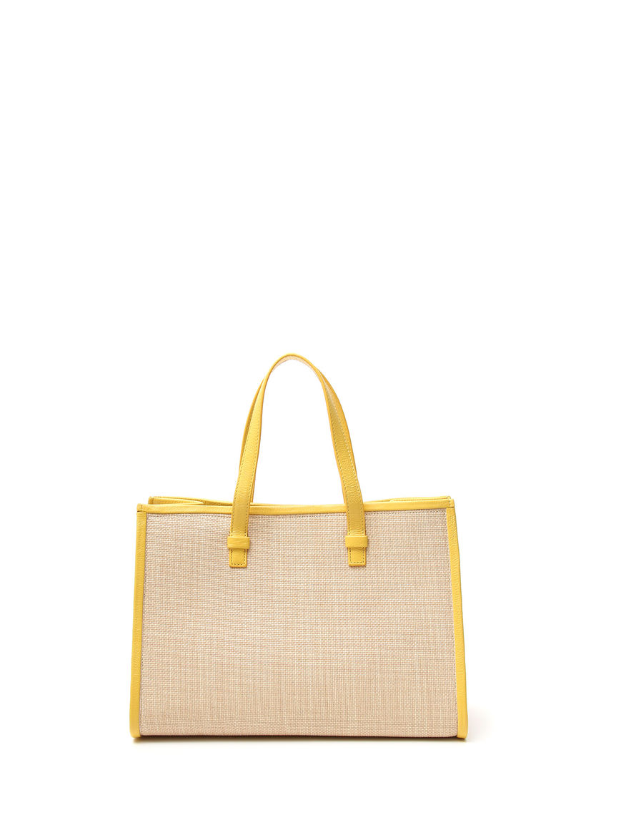 Shopping bag in ecopelle
