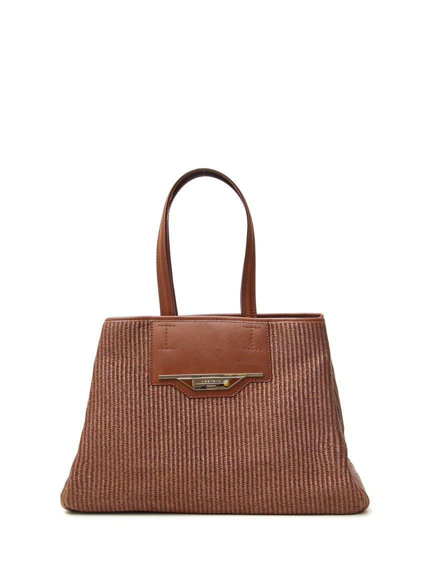 Shopping bag in rafia