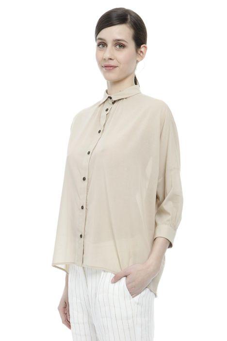 Camicia con maniche a kimono