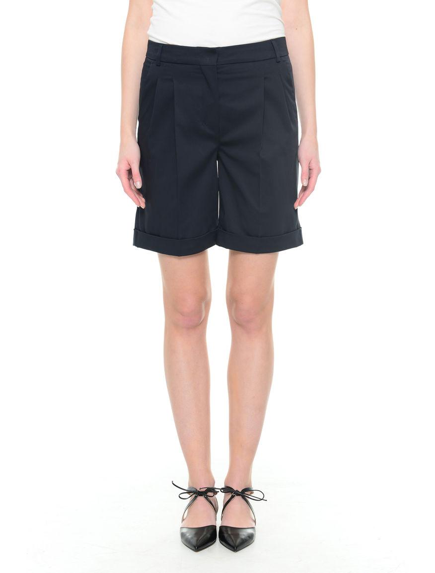 Pantaloni corti cotone stretch