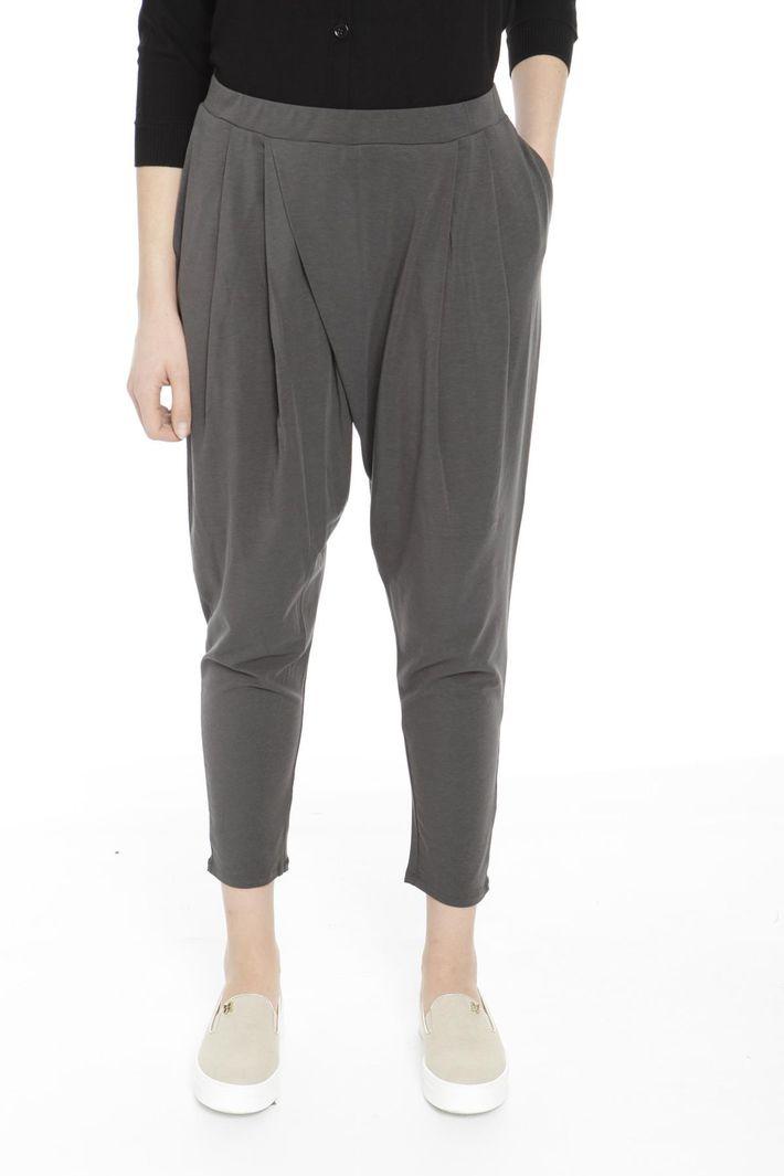 Pantaloni ampi in jersey