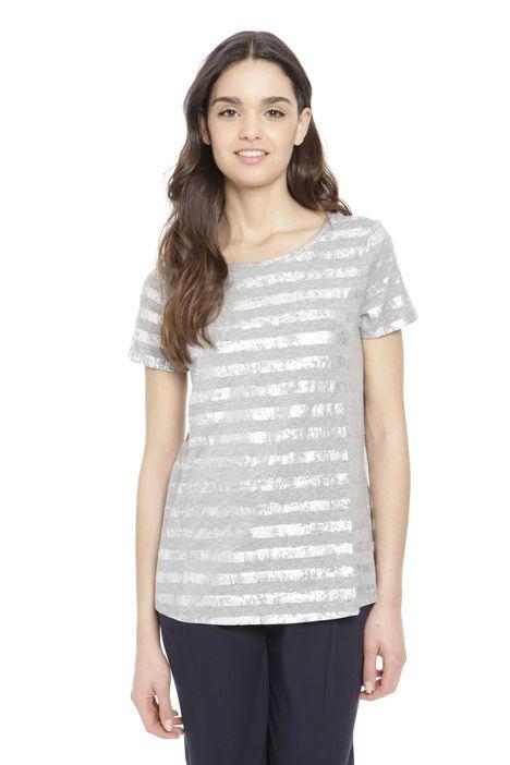 T-shirt metallizzata