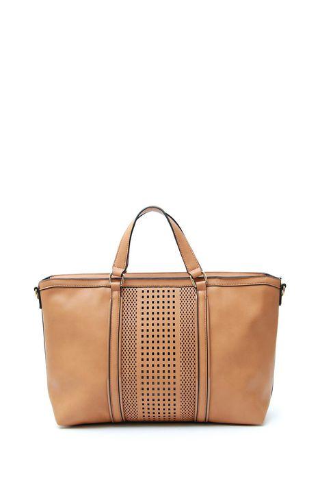 Shopping bag traforata