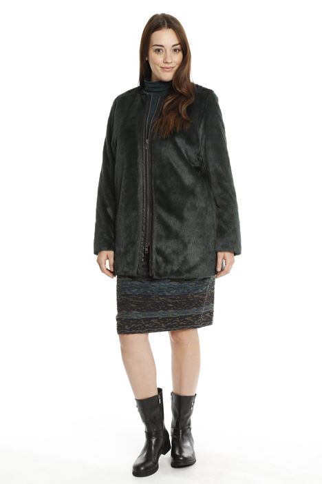 Cappotto in pelliccia sintetica Diffusione Tessile