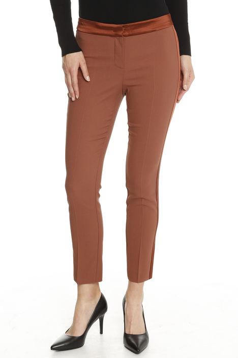 Pantaloni in enversatin