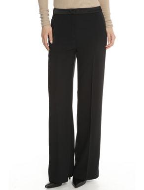 Pantaloni ampi in cady
