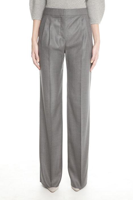 Pantaloni in tela di lana