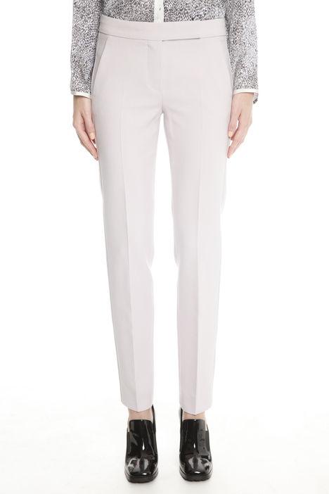 Pantaloni in doppio di lana
