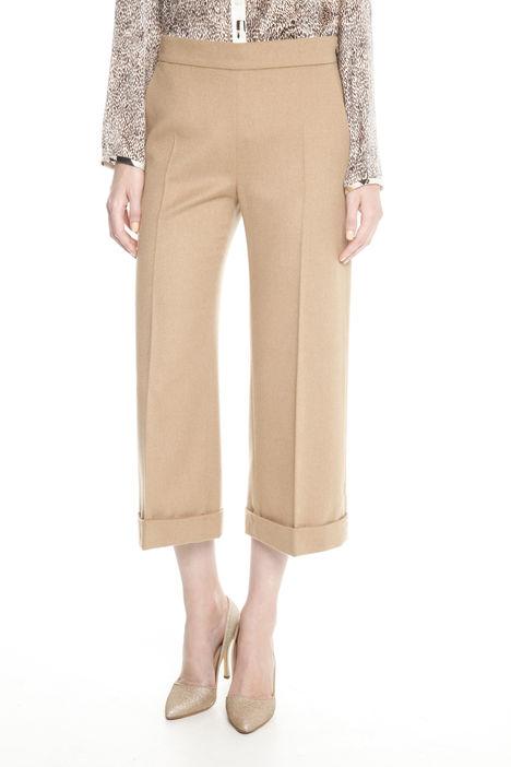 Pantaloni in drap di lana