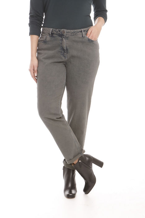 Pantaloni in denim sovratinto