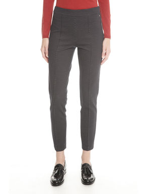 Pantaloni in jersey stampati