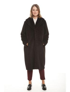 Cappotto lungo in alpaca