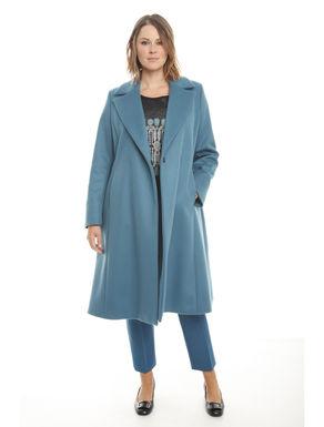 Cappotto a doppiopetto in lana
