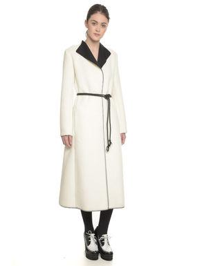 Cappotto lungo in pelliccia sintetica