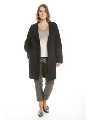 Cappotto in double di lana