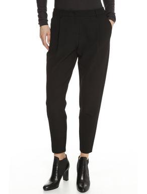 Pantalone in cady di cotone