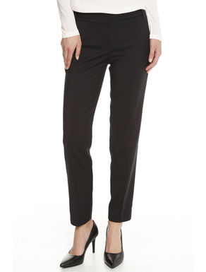 Pantalone in raso stretch