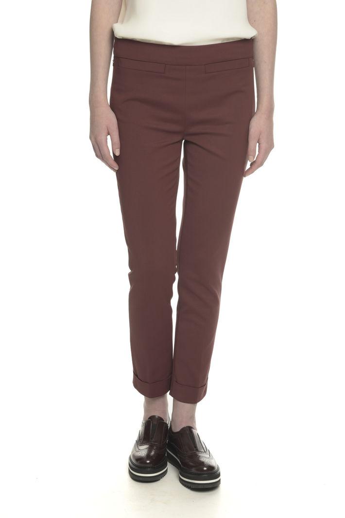 Pantaloni in doppio cotone