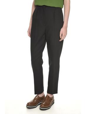 Pantaloni in doppio crepe